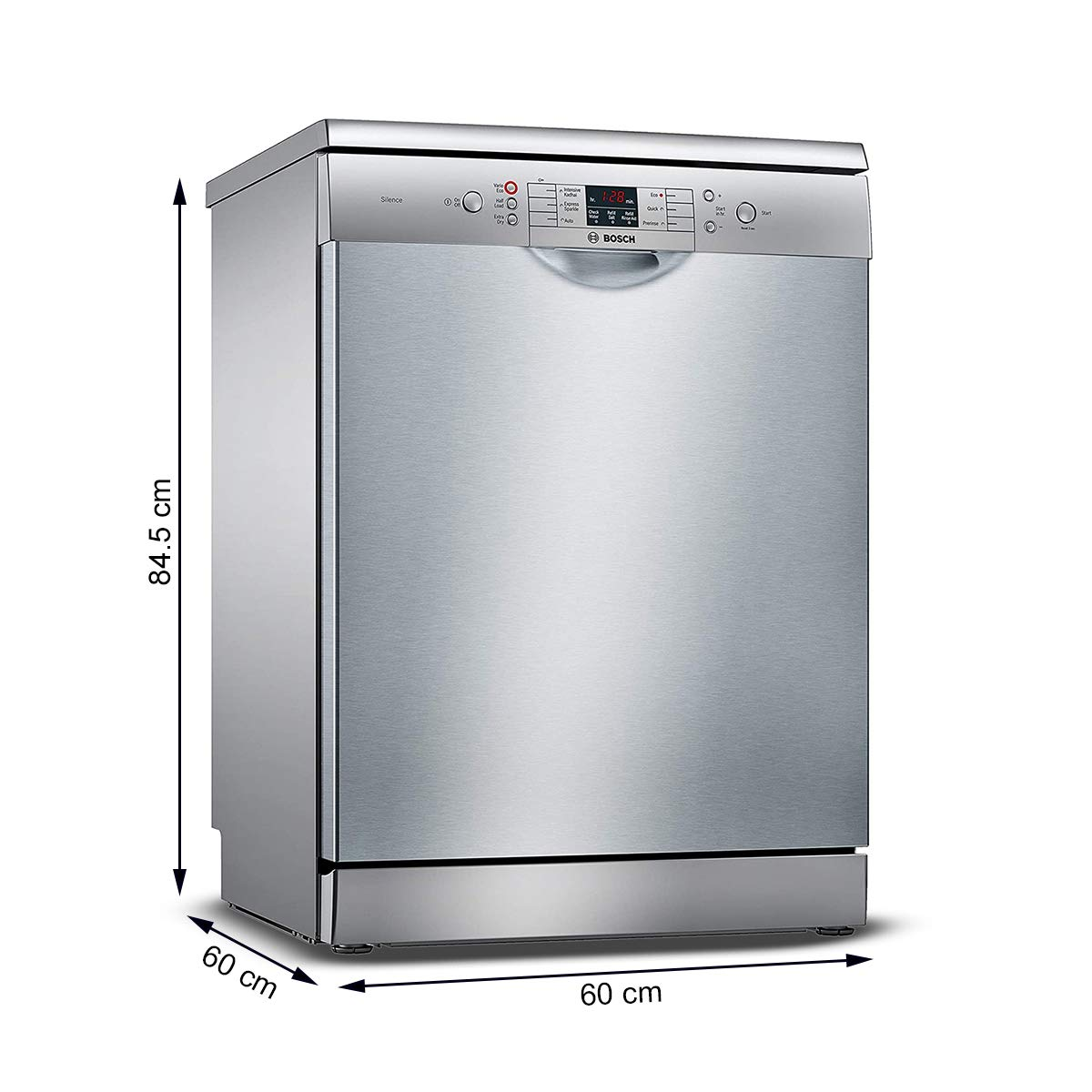 Bosch SMS66GI01I - Free Standing 13 Place Settings Dishwasher