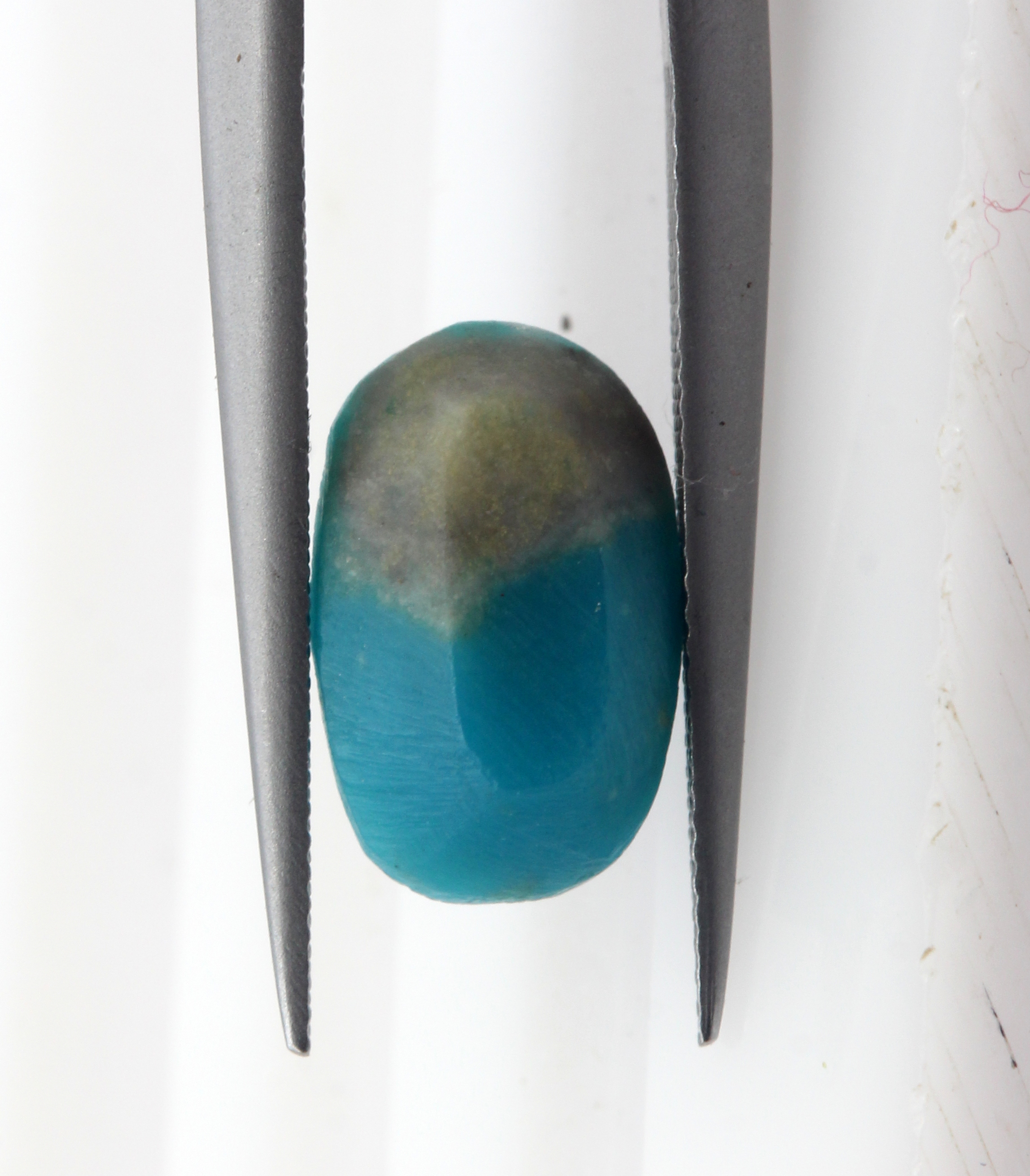 1.83 Ct Turquoise Natural Gemstone  Oval Cut Iranian Certified
