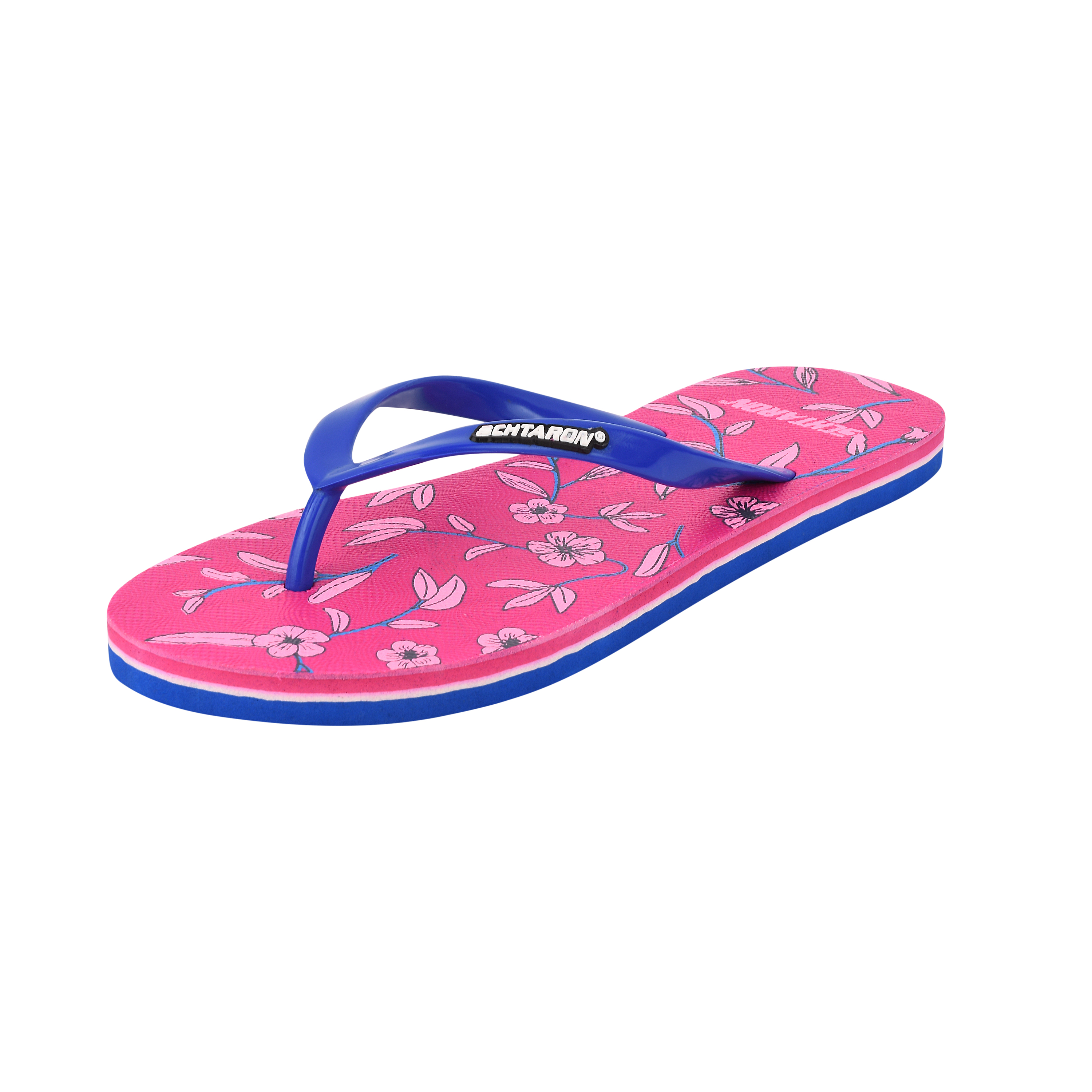 Parmar Trders Stylish Kids's Sandals ,comfortable And Reliable For Articals 502 Pink.Navyblue (pink.Navyblue, 4-7, PAIR'S)