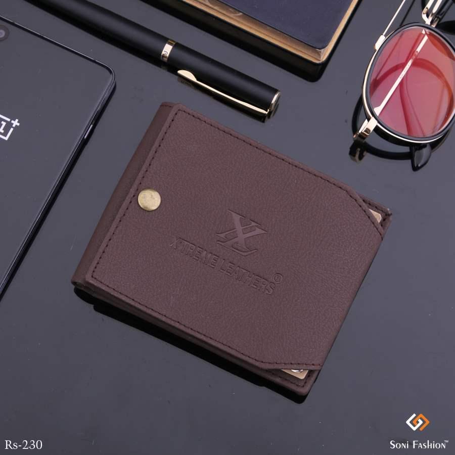 Blocking Leather Wallet For Men