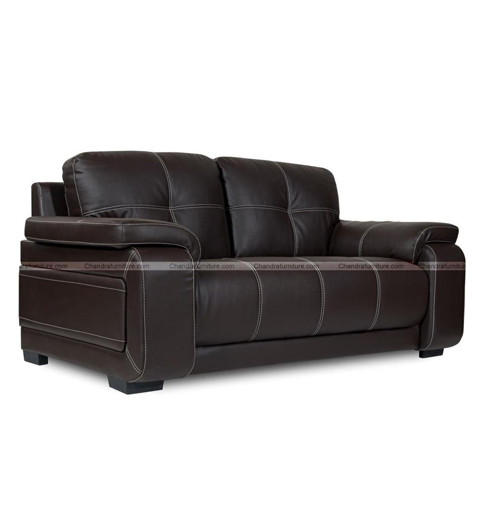 Chandra Furniture Regal Sofa Set In Dark Colour Lathrite