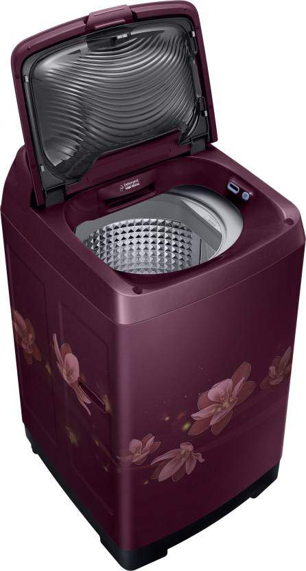 Samsung 7.5 Fully Automatic Top Load Washer With Dryer Purple (WA75N4570FM/TL)