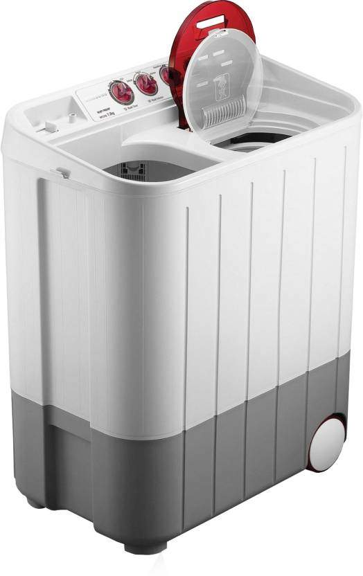 Samsung 7.2 Kg Semi Automatic Top Load Washing Machine (WT727QPNDMWXTL)