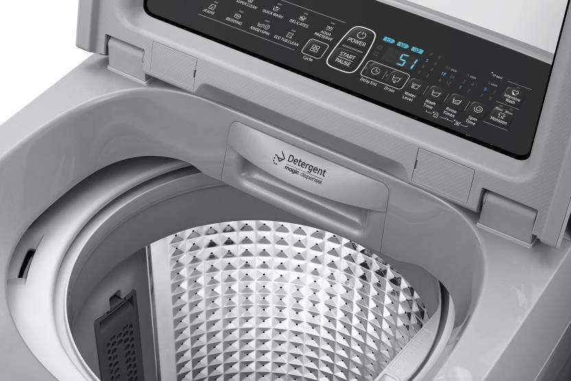 Samsung 7 Fully Automatic Top Load Washer With Dryer Silver (WA70N4260SS/TL)