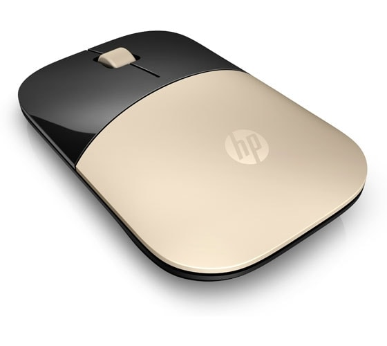 HP Z3700 Wireless Mouse Gold [X7Q43AA]