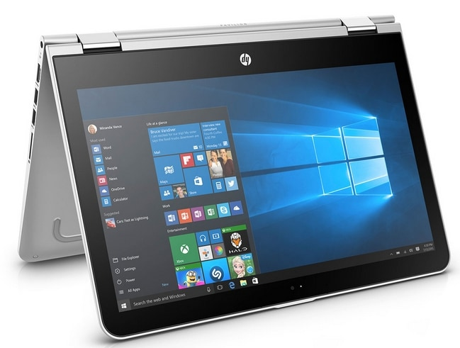 HP Pavilion X360 - 13-u105tu Y4F72PA 33.78 Cm (13.3) Laptop (4 GB, 1 TB, Intel Core I5, Windows 10 Home)
