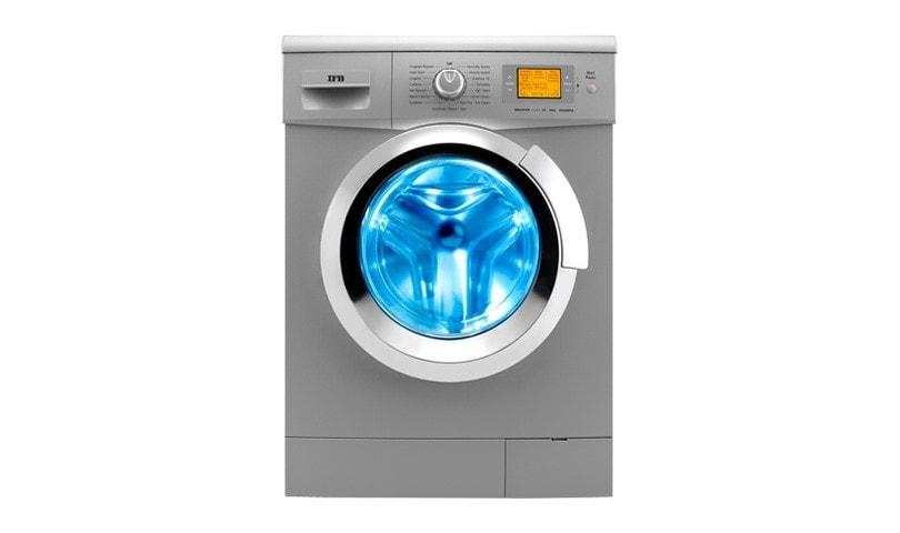 IFB 8 Kg Fully-Automatic Front Loading Washing Machine (Senator Aqua SX, Silver)