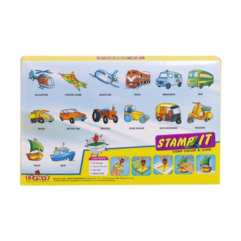 Zephyr Stamp It Transport
