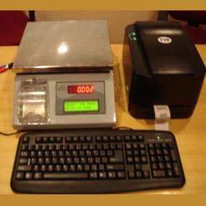Alfa Weighing With Bar Code Printing Weighing Machine