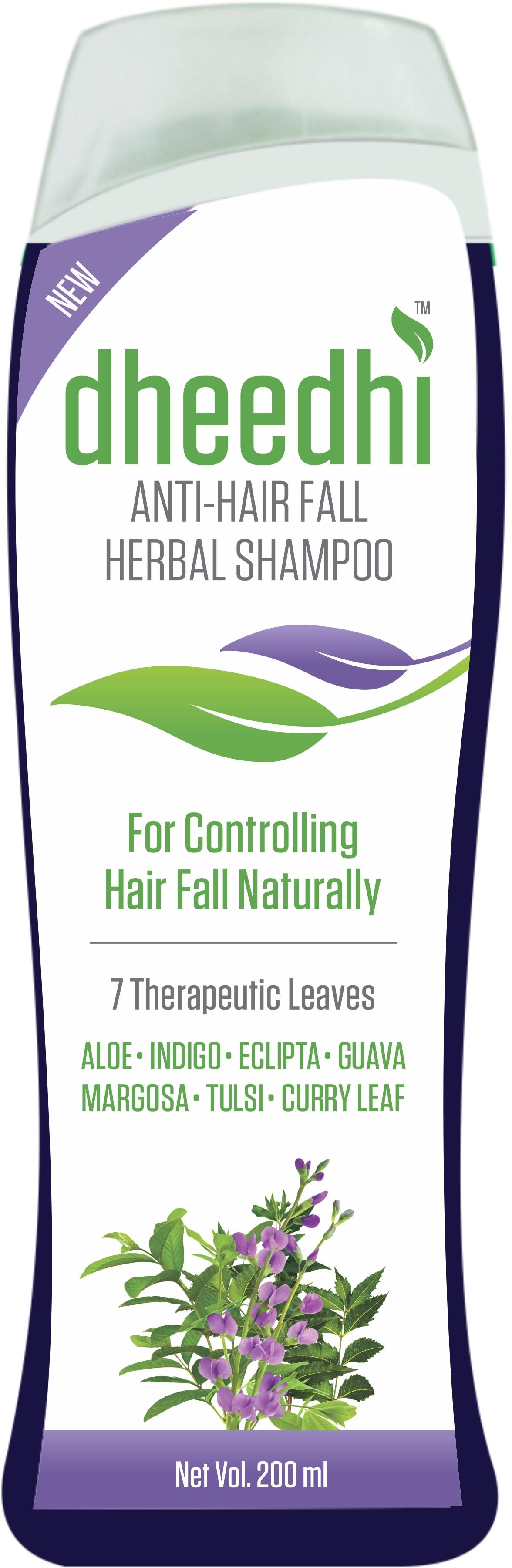 Dhathri Dheedi Anti-Hair Fall Herbal Shampoo For Controlling Hair Fall Naturally (200 ml)