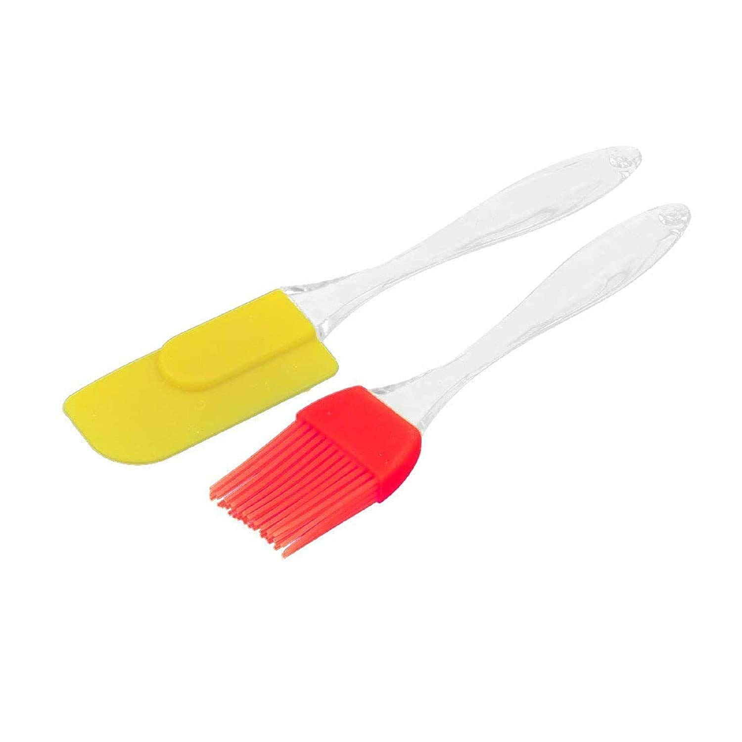 Set Of Silicone Basting Brush Spatula Kitchen Cooking Applying Butter/Oil Colour