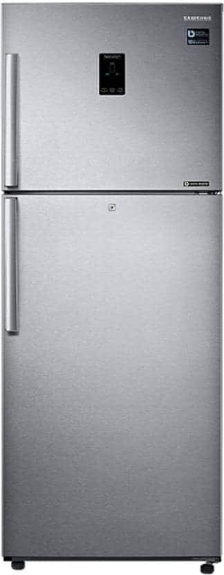 Samsung RT39K5458SL/TL Frost Free Double Door Refrigerator (394 Litre, 3 Star, EZ Clean Steel)