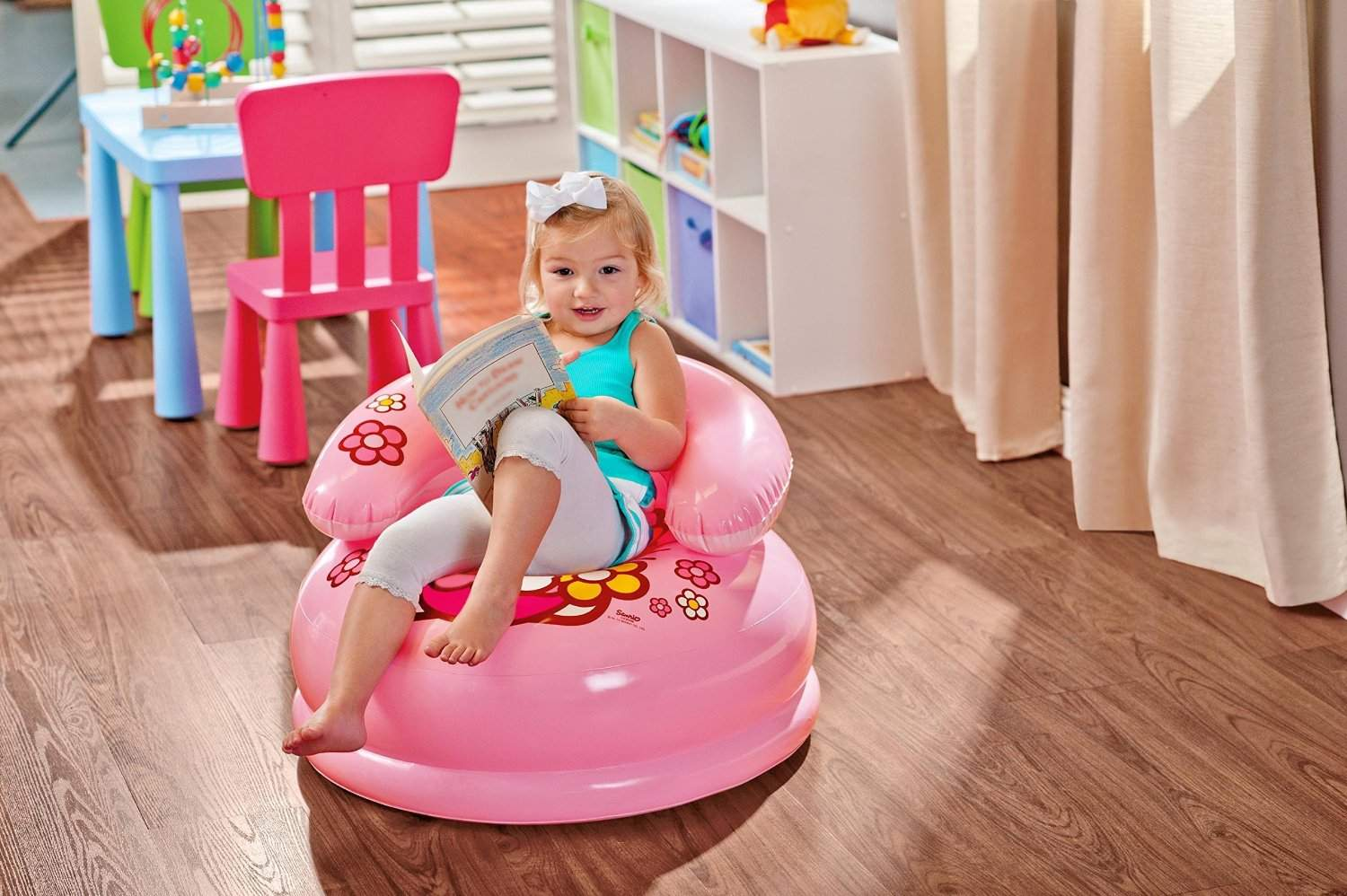 Intex High Quality Intex Hello Kitty Inflatable Chair For Kids And Children - For Ages 3 - 8 Years