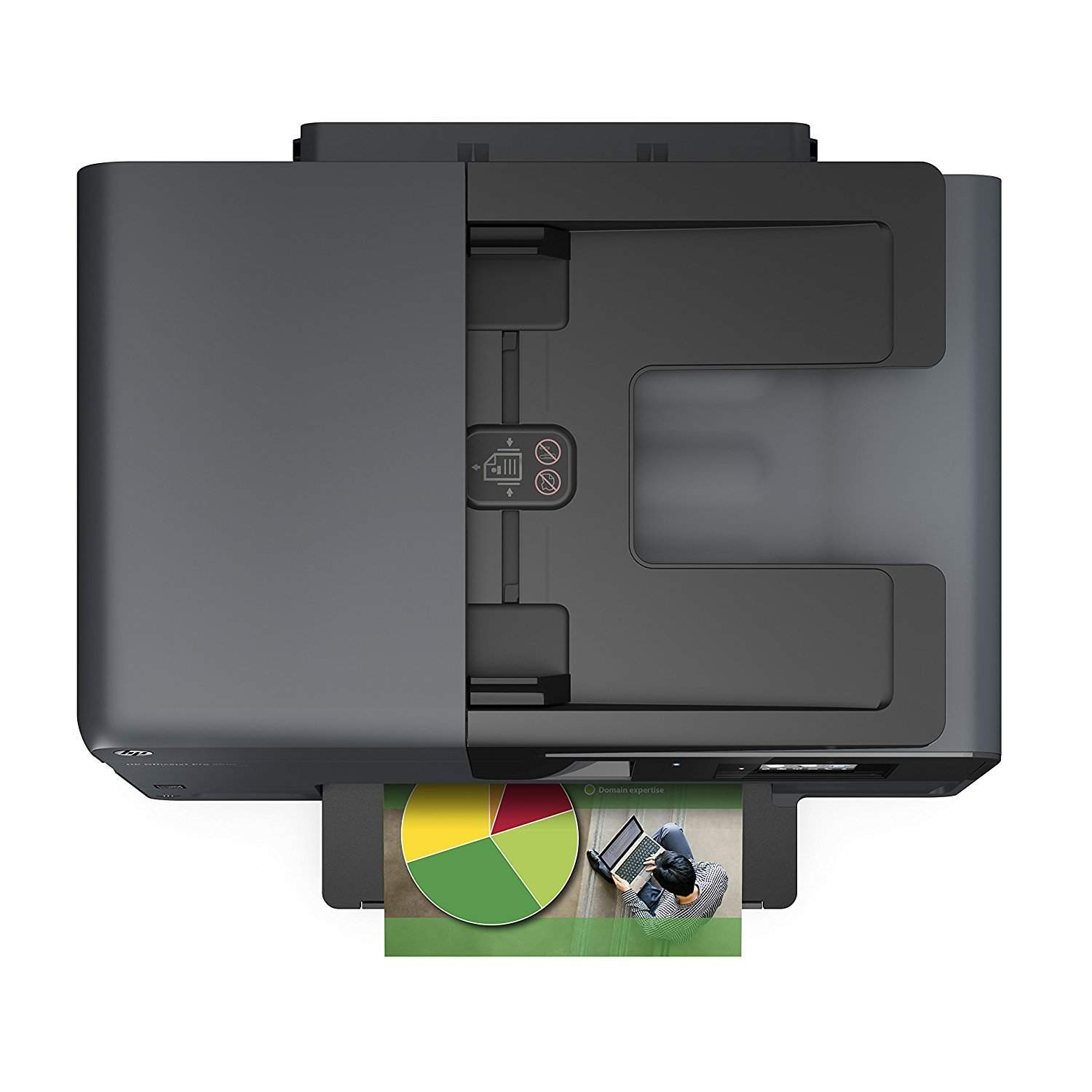 HP Officejet Pro 8610 Multi-Function Color All In One Printer (Black)
