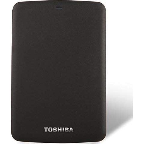 1TB TOSHIBA CANVIO CONNECT 2.5 PORTABLE EXTERNAL HDD
