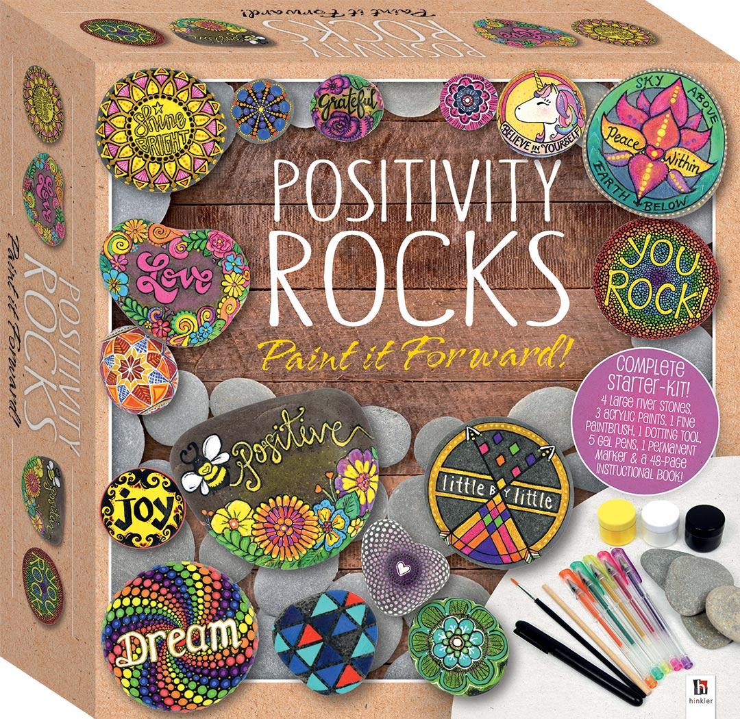 Positivity Rock Paint It Forward