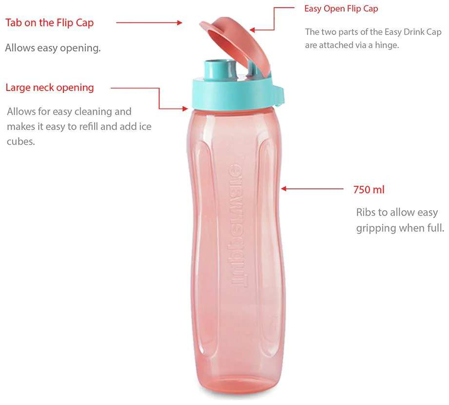 Tupperware Water Bottle 500ml
