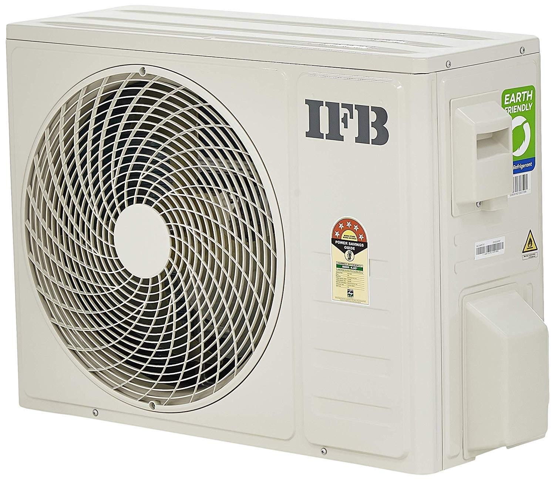 IFB 1.5 Ton 5 Star Inverter Split AC (Copper, IACI18X95T3C, White)
