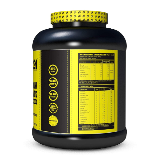 Absolute Nutrition Raw Isolate (Unflavoured, 2kg)
