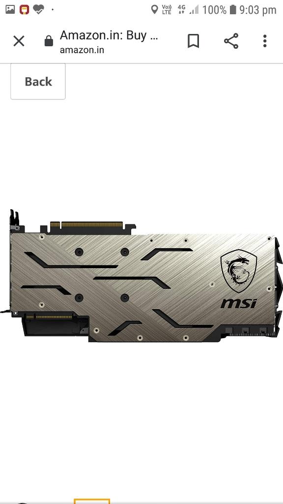 MSI Geforce Rtx2080ti 11gb Gaming X Trio Rgb