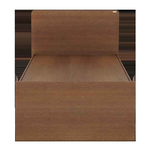 Godrej Adria King / Queen / Single Size Bed Imperial Oak Finish (Single)