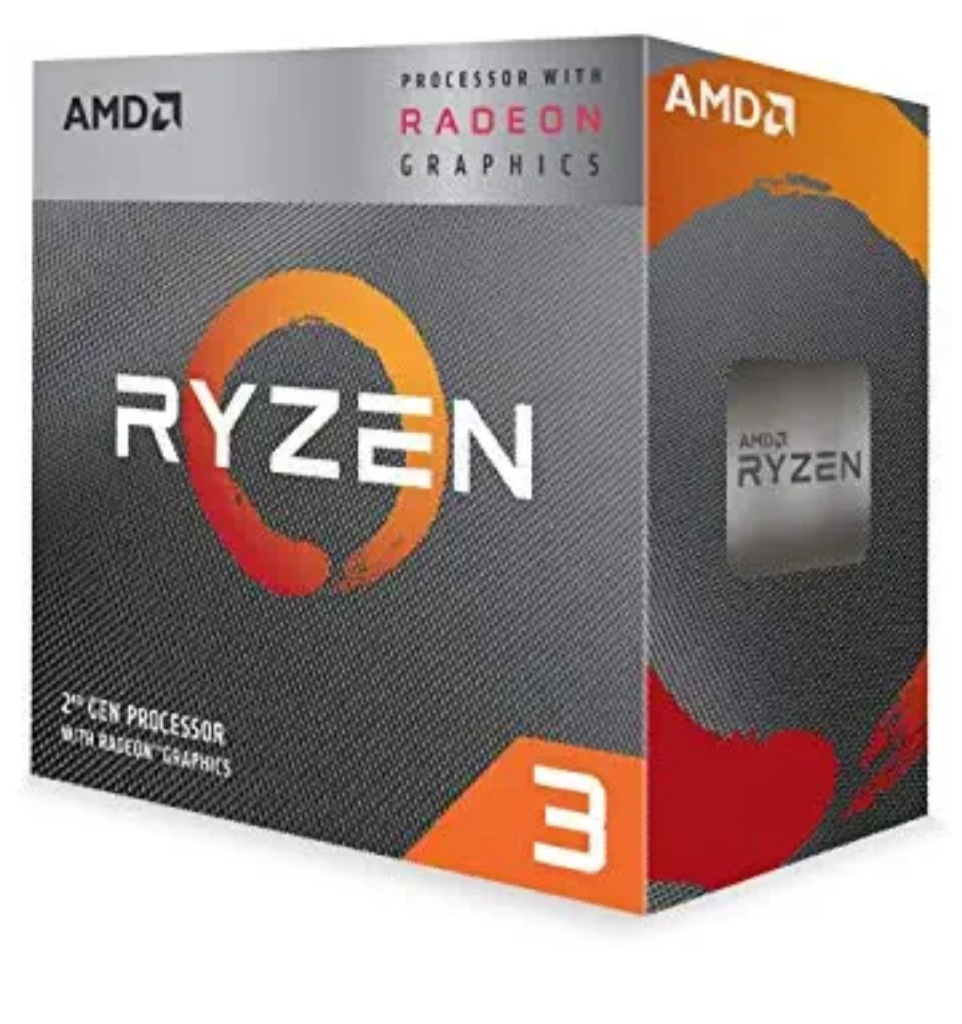 AMD Ryzen 3 3200G With RadeonVega 8 Graphics Desktop Processor 4 Cores Up To 4GHz 6MB Cache AM4 Socket (YD3200C5FHBOX)