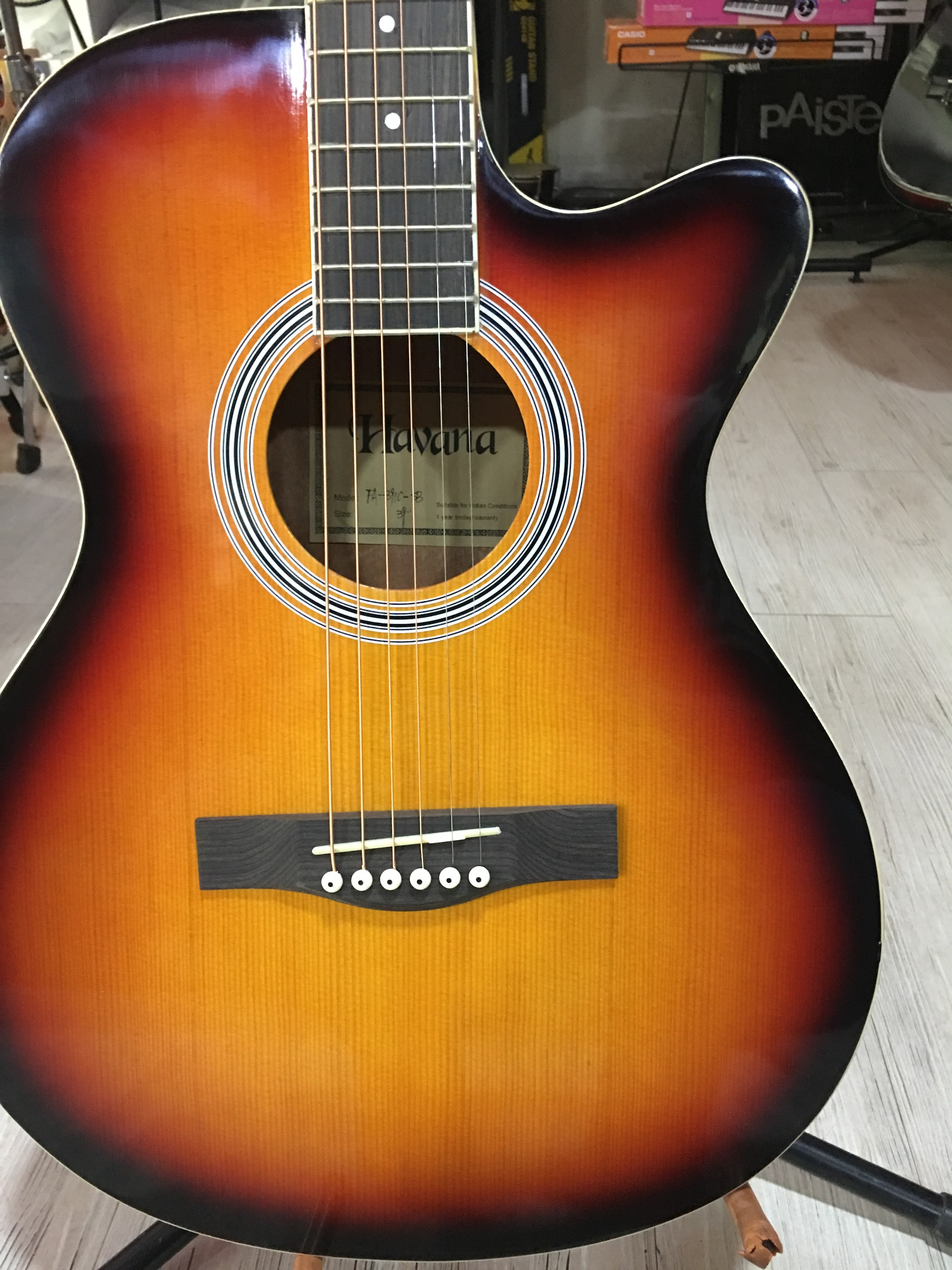 Havana FA-391C Acoustic Guitar (SB)