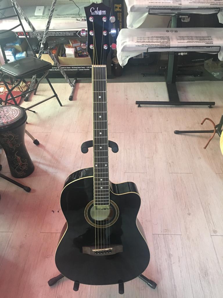 Havana FA-391CEQ Semi Acoustic Guitar (BK)