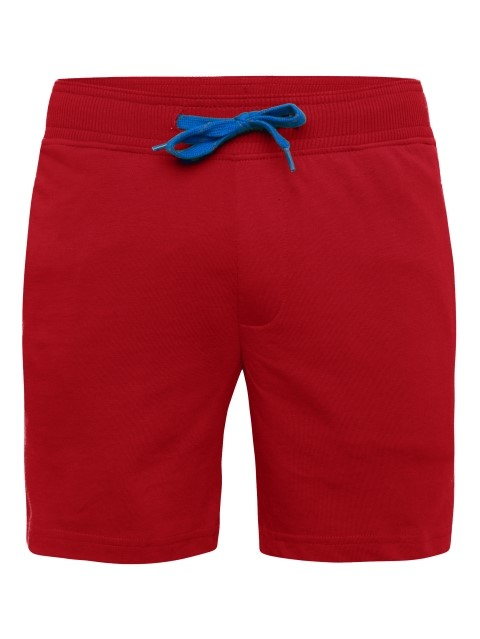 Jockey Boy Red Shorts (5-6 Yrs,Red)