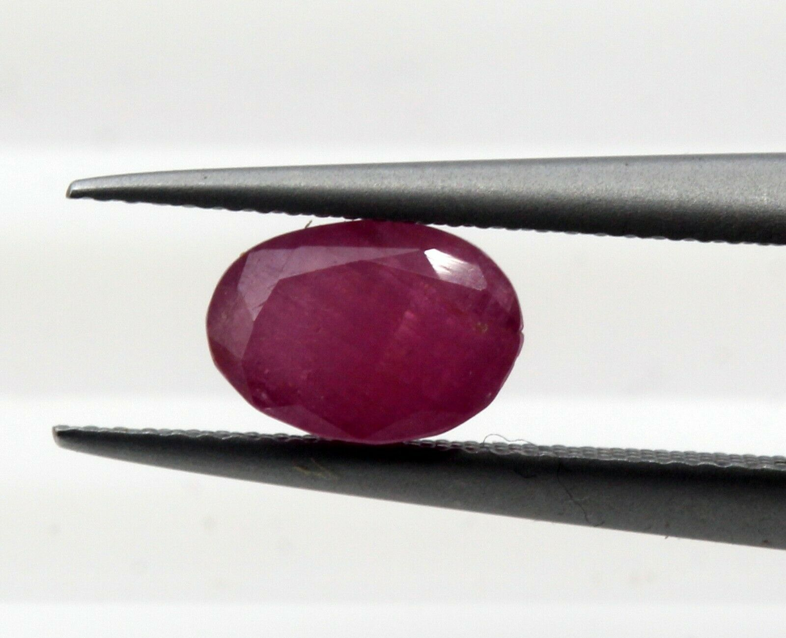 0.83 Ct Ruby South Africa Oval Cut Natural Gemstone Certified