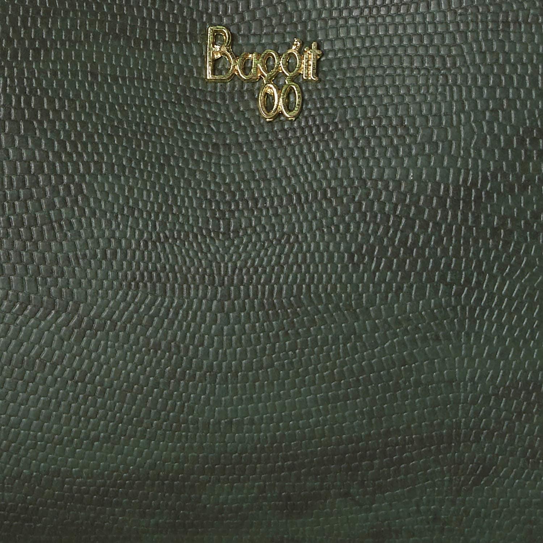 BAGGIT WOMEN'S SLING BAG CUM WALLET CXH LJ MAG Y G X HD BEADS OLIVE (GREEN) XL