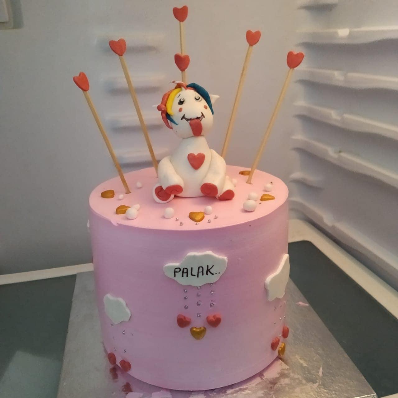 Unicorn Cake (1kg,Chocolate)