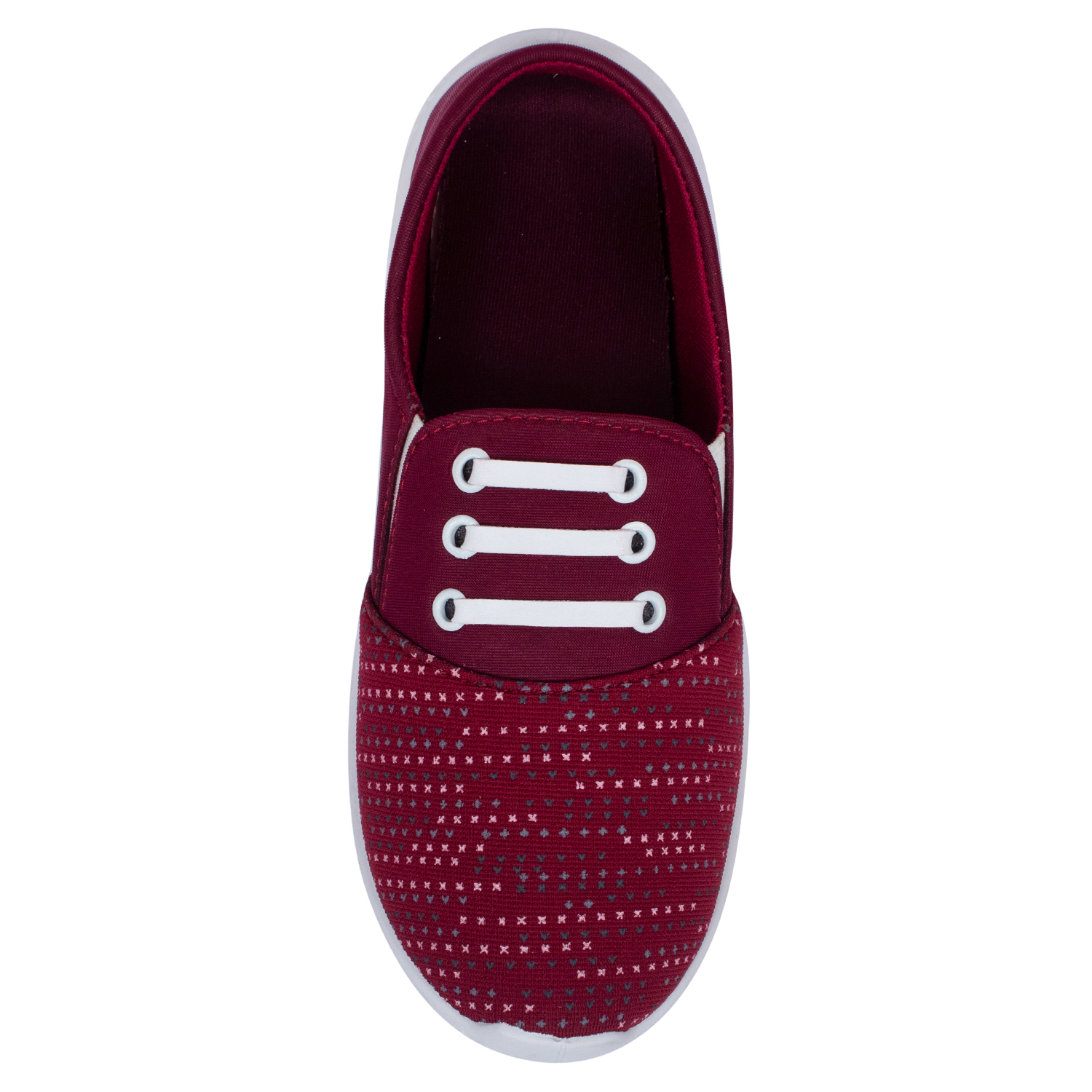 Foot Trends Women Sports Shoes R.ShinaFT-ShinaRed. (Red, 4-7, 4 PAIR)