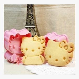 1 Set Cute Kitty Cat Design Baking Cookie Biscuit Fondant Clay Cake Sugar Craft Cutter - Divena In