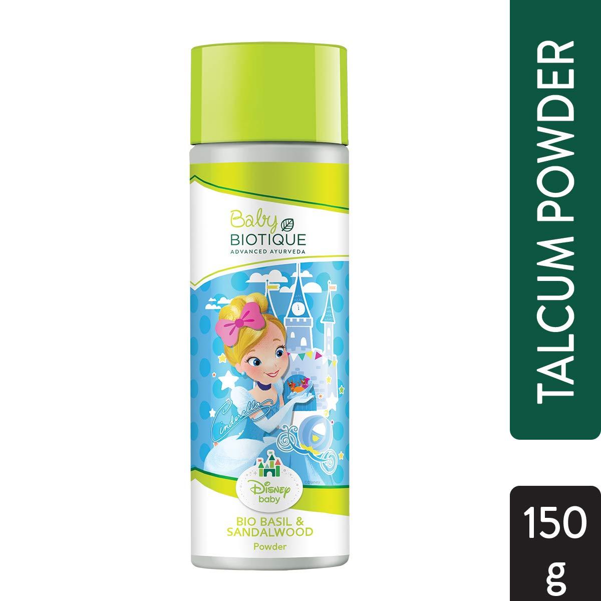 Biotique Basil & Red Sandalwood (Baby Princess) Powder (150 g)