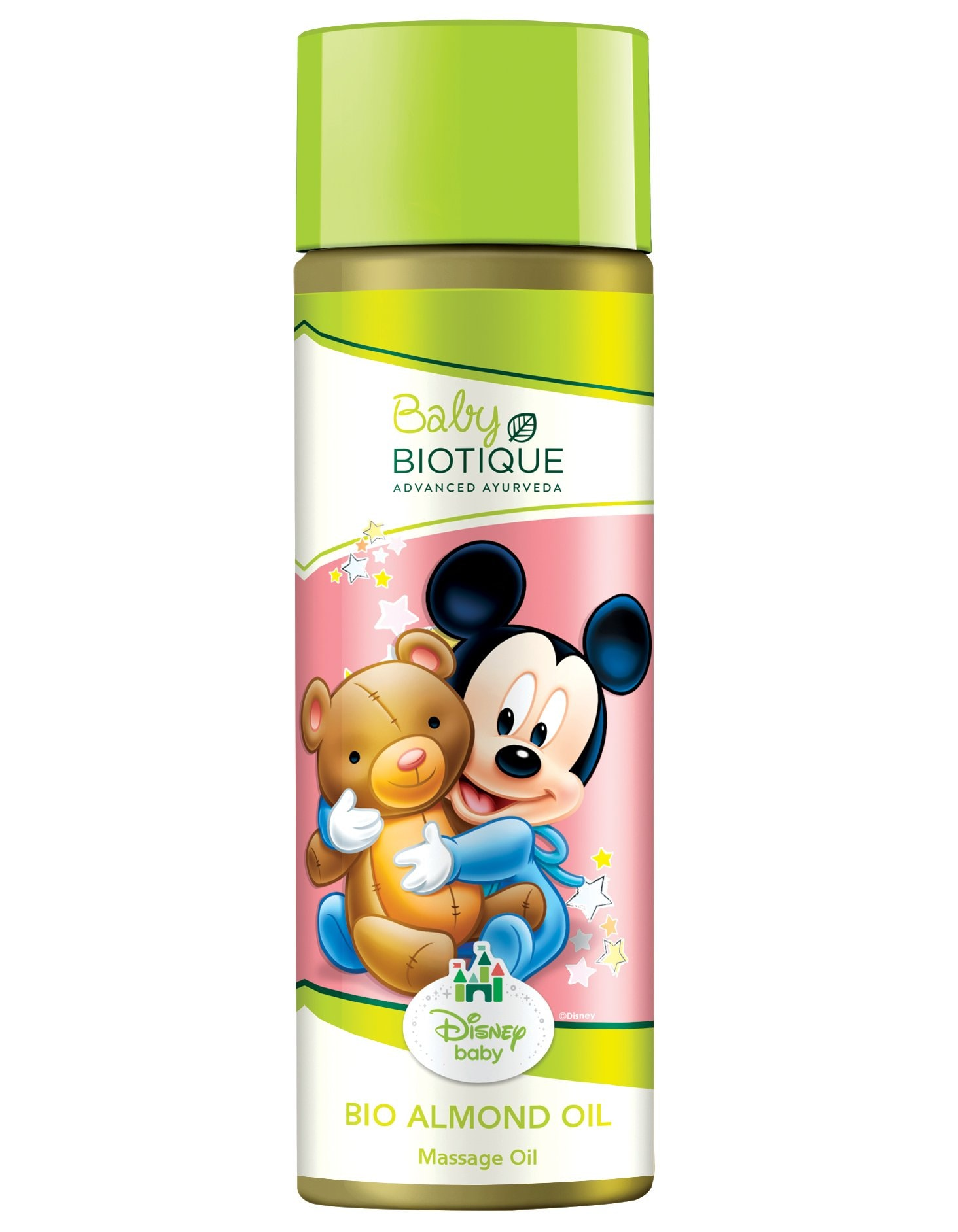 Biotique Almond Oil (Mickey) Massage Oil (200 ml)