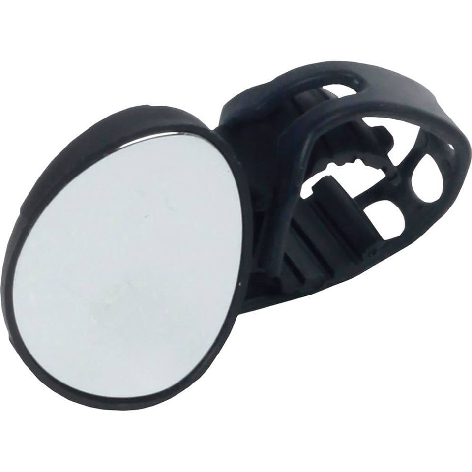 Rearview Handlebar Bicycle Glass Mirror (Blue)