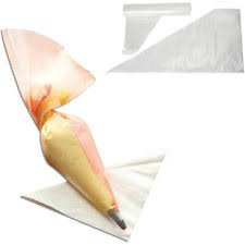 Plastic Icing Piping Bags For Cake Decorating Medium Size