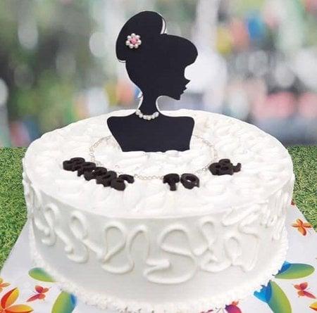 Astounding Bride To Be Cake 1 Kg Butter Scotch Fondant Cakes Online Funny Birthday Cards Online Necthendildamsfinfo