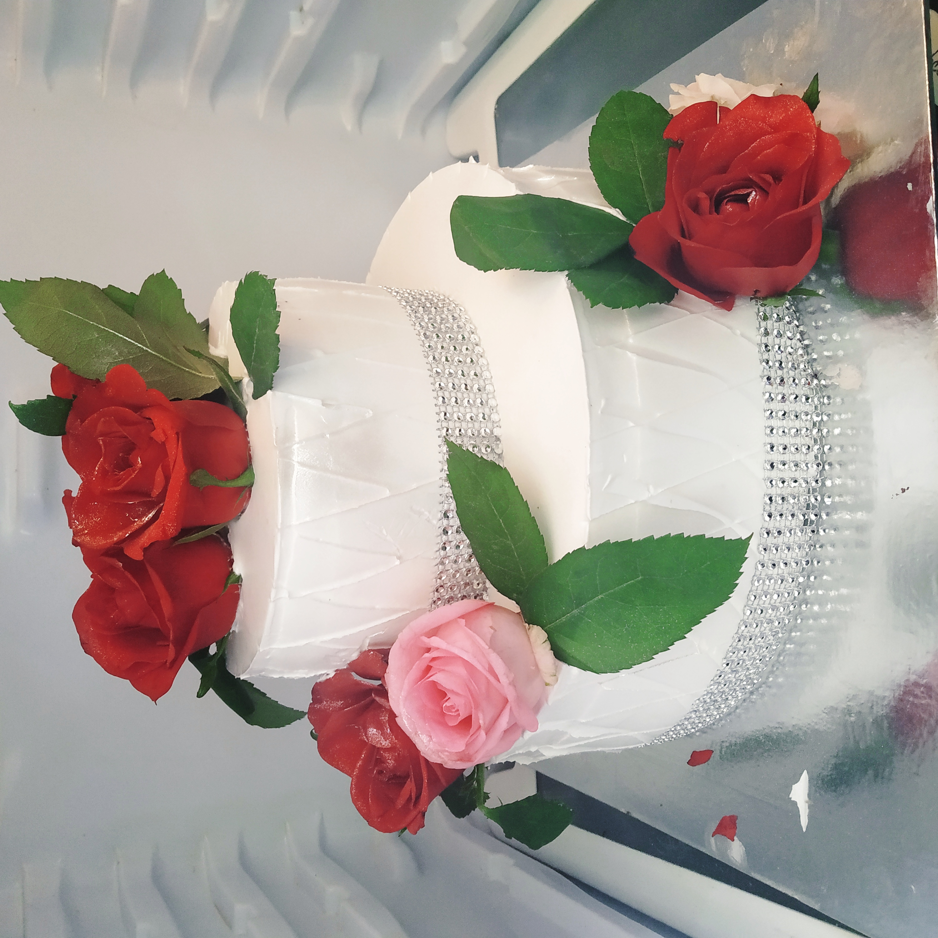 Floral Cakes (2.5 Kg,Chocolate)