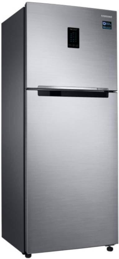 Samsung RT37M5518S8/HL Frost Free Double Door Refrigerator (345 Litres, 3 Star, Elegant Inox)
