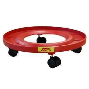 Anjali Cylinder Trolley Round - Super Gas, Plastic, 1 Pc