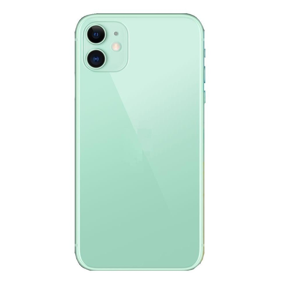 Apple IPhone 11 Compatible Full Body Replacement Housing (Green)