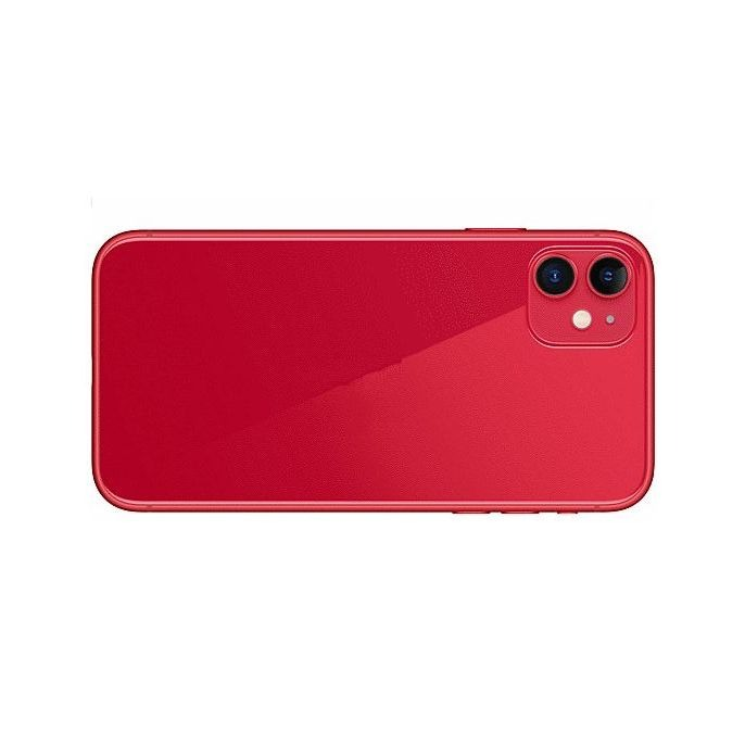 Apple IPhone 11 Compatible Full Body Replacement Housing (Red)