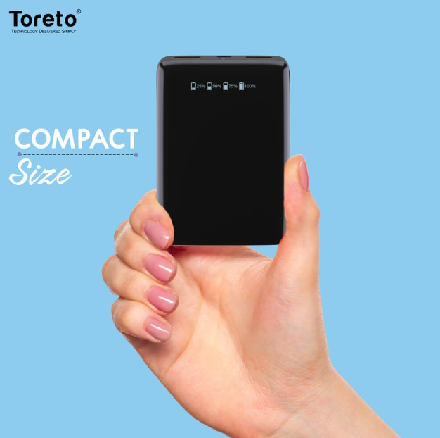 TORETO ZING 10000 MAH POWER BANK