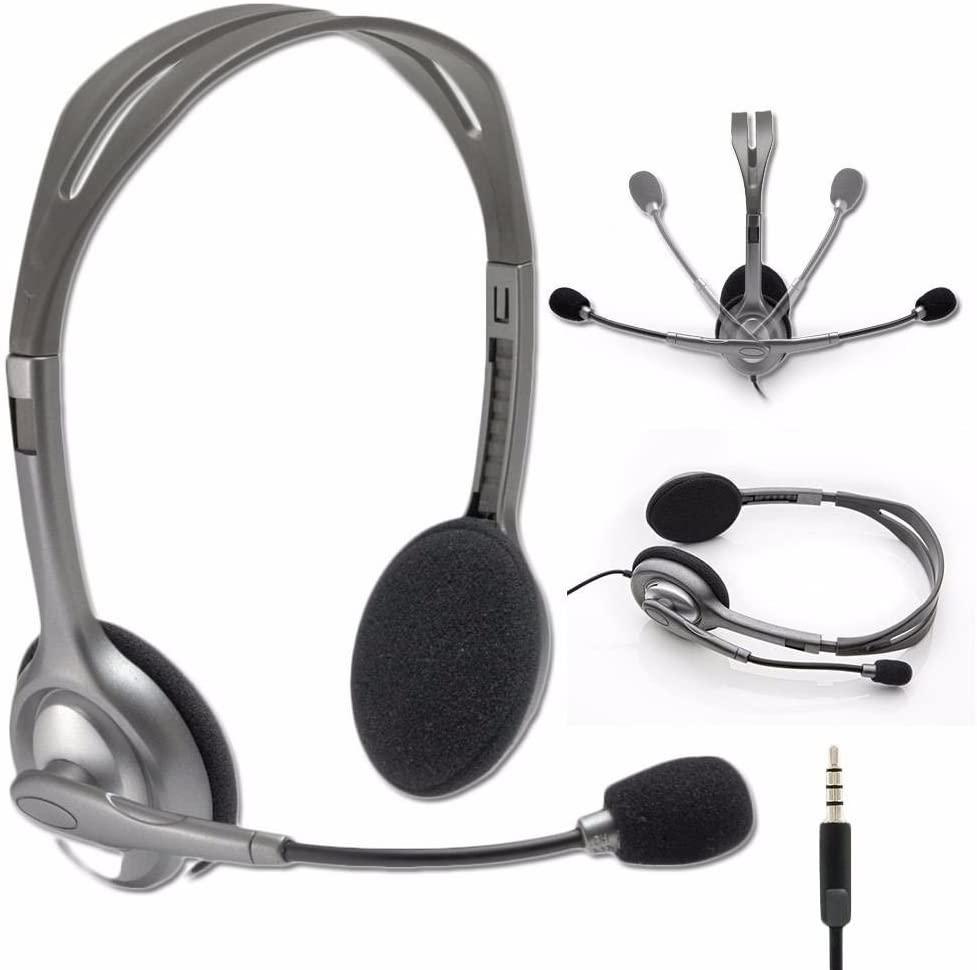 Headphone With Mic Logitech H111