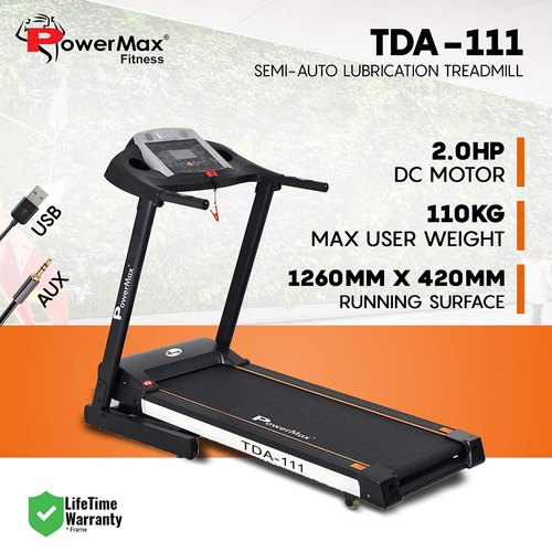 PowerMax TDA111 Treadmills