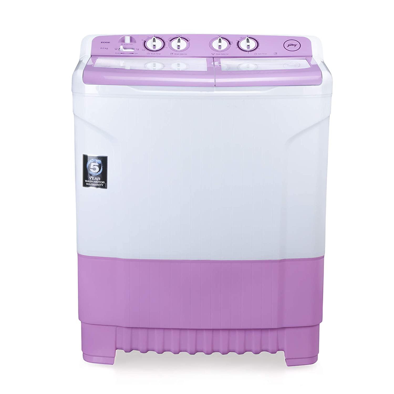 Godrej 8 Kg Semi-Automatic Top Loading Washing Machine ( WS EDGE 8.0 Lv TB3 M )