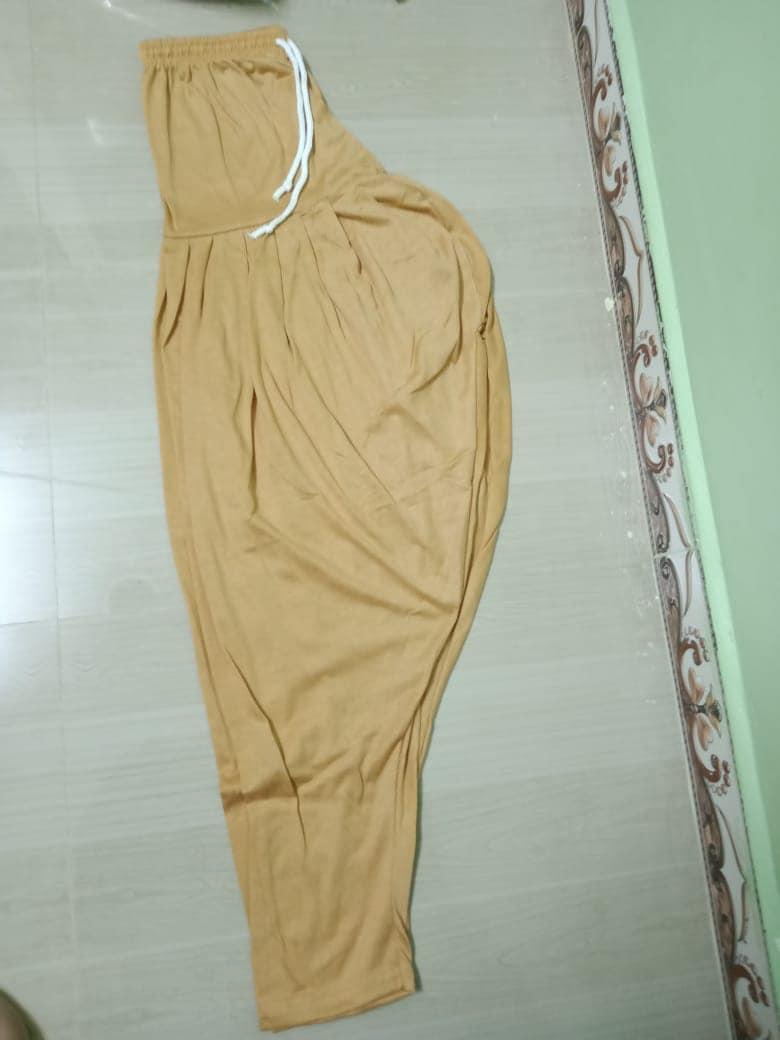 4 Way Lycra Patiyala Leggings For Women With Robe (XL,Sandal)