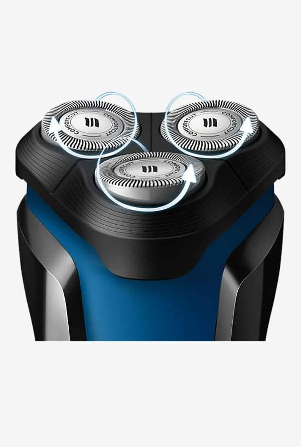 Philips AquaTouch S1030/04 Wet & Dry Electric Shaver (Black)